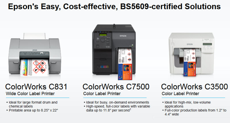 GHS and BS5609 Certified Digital Labels