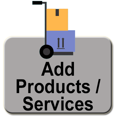Add Products and Services